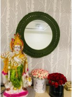 Macrame Mirror by yash