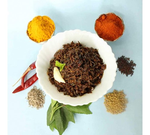 Gongura or Sorrel Leaves Pickle Andhra style