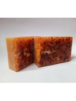 Turmeric and orange soap
