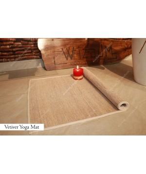 Vetiver Yoga Mat (6*2 sq. ft)