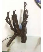 Antlers II Driftwood Table Lamp