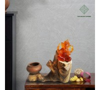 Auspicious Wood Art Night Lamp