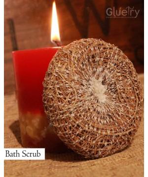 Vetiver Bath scrubber Ayurvedic Pack of 2