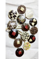Handmade chocolate sticks pack of 14