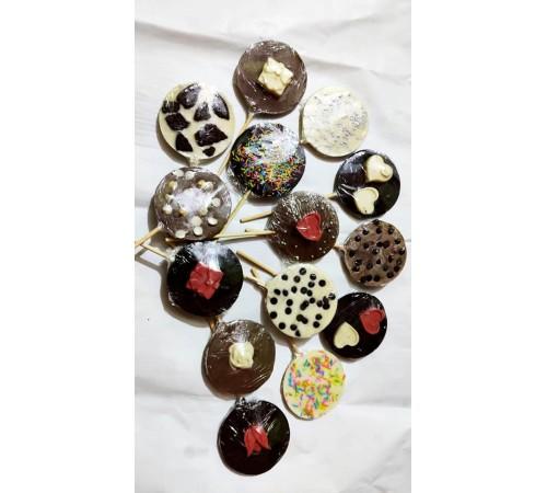 Handmade chocolate sticks pack of 14